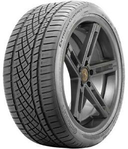 1 New Continental Extremecontact Dws06 245 45zr17 Tires 45zr 17 245 45 17