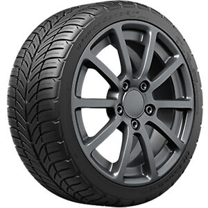 1 New Bfgoodrich G force Comp 2 A s 255 40r17 Tires 40r 17 255 40 17