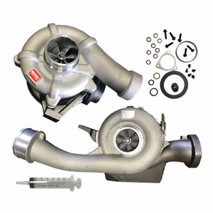 New 6 4l Powerstroke Diesel Turbocharger High And Low Pressure 2008 2010 Fserie