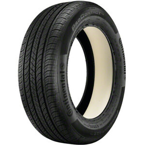 1 New Continental Procontact Tx P195 65r15 Tires 65r 15 1956515
