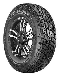 4 Multi mile Wild Country Xtx Sport 4s suv 265x65r18 Tires 2656518 265 65 18