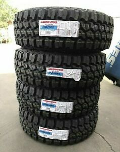 4 New Americus thunderer Rugged M t Lt285x75r16 Tires 2857516 285 75 16
