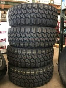 4 New Americus thunderer Rugged M t Lt285x70r17 Tires 2857017 285 70 17