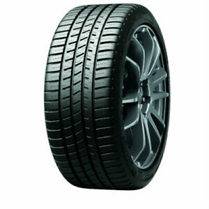 1 New Michelin Pilot Sport A S 3 205 40r17 Tires 2054017 205 40 17