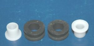1956 67 Chevrolet Carburetor Linkage Bushings Grommets Carter Holley 4pc New