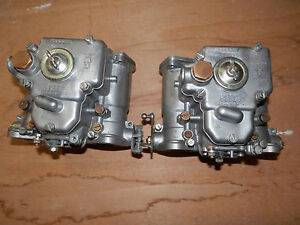 Alfa Romeo Weber 40 Dcoe Side Draft Carburetors