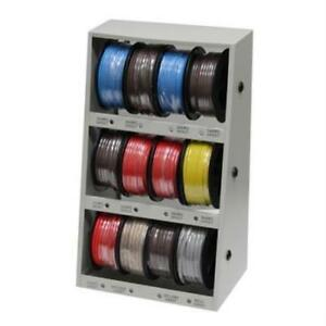 Grip Tools 12 spool Automotive Wire Assortment With Steel Rack