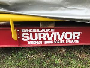 Truck Scale 11x70 W Guide Rails On Lot And Ready To Go