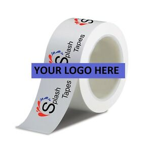 36 Rolls 2 X 110 Yd Custom Logo Printed Carton Sealing Packing Tape 2 Colors