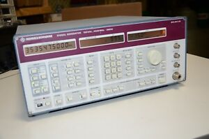 Rohde Schwarz Smhu 4 3 Ghz Signal Generator With Option 017 Tested
