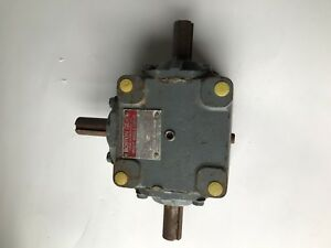 Boston Gear R1215 Gearbox Right Angle nos free Shipping