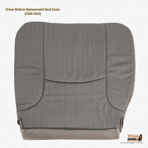 2005 Dodge Ram 2500 3500 St Driver Side Bottom Cloth Replacement Seat Cover Tan