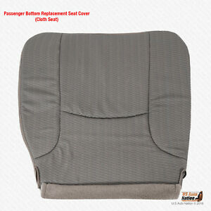 2002 2005 Dodge Ram 1500 St Passenger Bottom Cloth Replacement Seat Cover Tan