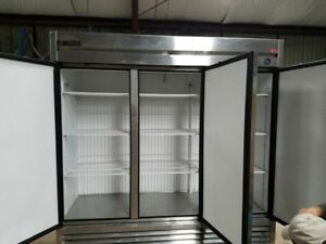 Floral Refrigerator freezer True Refrigeration Model T72f 3 Doors Clean