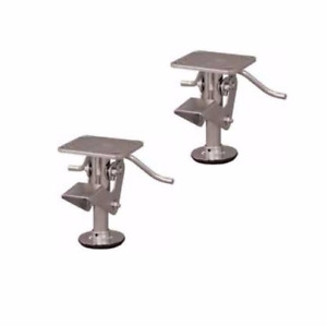 Set Of 2 Colson Heavy Duty Industrial Floor Locks For 4 Casters