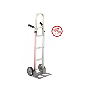 Magliner Double Grip Handle 18 Nose 8 Tire Hand Truck 500 Cap 55 Tall