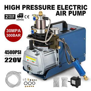 110v 30mpa 4500psi 2 5hp Air Compressor Pump Pcp Electric High Pressure