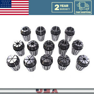 14pcs Er20 1 16 1 2 Spring Collet Set For Cnc Milling Lathe Tool Workholding
