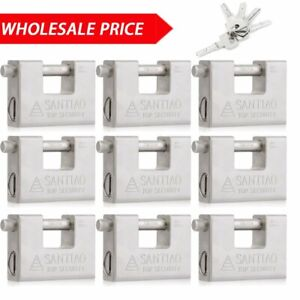 10x 100x 94mm Heavy Duty Padlock High Security Container Warehouses Garage Truck