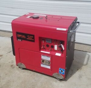 7500w Diesel Generator Digital Power Systems dp75asb In Great Condition