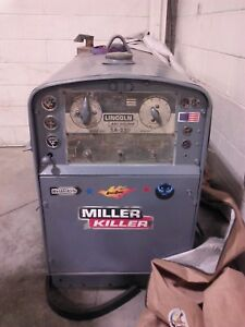 Used Diesel Shield Arc Sa 250 Lincoln Arc Weld Machine W Remote Control