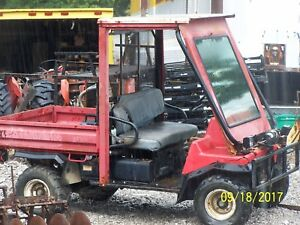 Utility Vehicle Mule With Winch