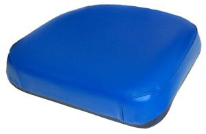 Amf7610s Seat Cushion Blue Vinyl For Ford New Holland 2000 3000 4000 Tractors