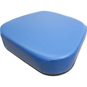 Amf8000s Seat Cushion Blue Vinyl For Ford New Holland 8000 8200 8400 Tractors