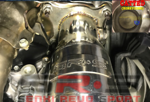 Sr S Downpipe For 2015 Wrx Manual Catted Dual O2 Bung J Down Pipe High Flow Cat