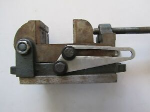 Vintage Palmgren No 000 Angle Tilting Drill Press Machinist Vise 2 1 2 Inch Usa