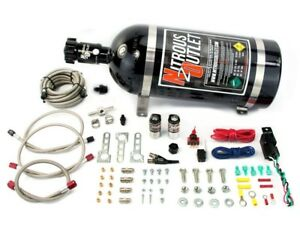 22 80001 no10 Nitrous Outlet X series Universal Efi Wet Single Nozzle System Kit
