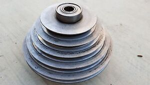 Delta Rockwell Walker Turner 20 Drill Press 5 Step Spindle Pulley Bearings
