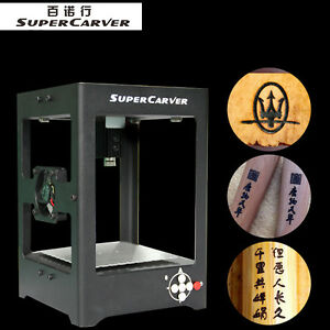 Supercarver 1000mw Laser Engraver Printer Cutter Carver Diy Engraving Machine Ht