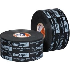 Shurtape Pw 100 4 Pack Moisture Resistant Pipe Wrap Tape 2in X 100ft
