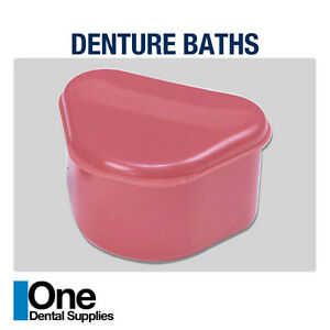 Dental Denture Baths 100 Pcs