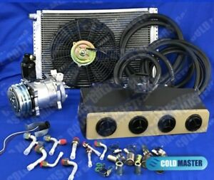 New A c Kit Universal Underdash Evaporator 450 Ideal For Humvee Military Style