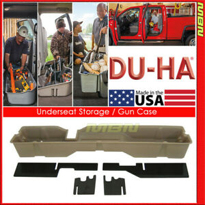 Du ha For 04 08 Ford F 150 Supercab Supercrew Tan 20006 Underseat Storage
