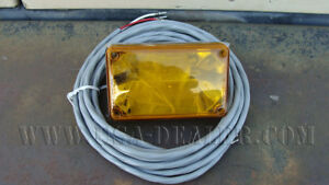 Whelen 400 Series Linear Strobe Light Amber Lens W Cable 01 0663478 a1
