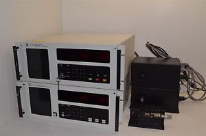2 Xinix 1011b Endpoint Controllers With 1104 1102 Monochromator Photodetectors