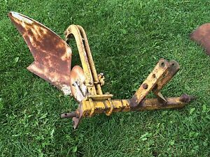 Vintage 3 point One Bottom Plow