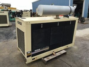 __80 Kw 2000 Kohler Generator Set Natural Gas Low Hours F o b Minnesota