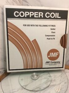 Jmf Company 3 8 In Id X 20 Ft Copper Type L Soft Coil