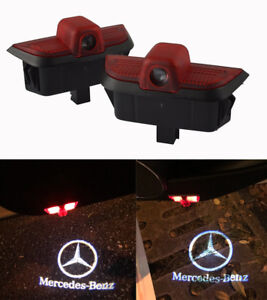 Led Car Door Welcome Projector Logo Courtesy Ghost Shadow Light For C Class W204