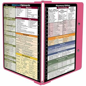 Whitecoat Clipboard Pink Pharmacy Edition