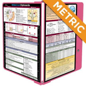 Whitecoat Clipboard Pink Metric Medical Edition