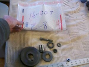 Gears And Assorted Parts From 12 Sears Craftsman Metal Lathe 101 07403