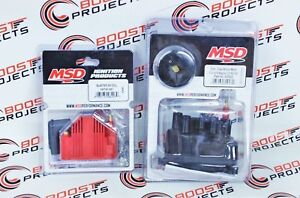 Msd Blaster Ss Coil Distributor Cap rotor For 92 00 Civic Si B16 Integra Ls