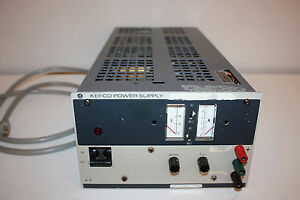 Kepco Jqe 55 5m Linear Dc Power Supply 0 55v 0 5a Programmable