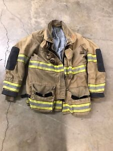 Globe Bunker Jacket Turnout Gear Jacket Size 46 48 And 50