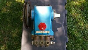 Cat Pump Car Wash Pressure Washer Pump With Bracket And Pulley